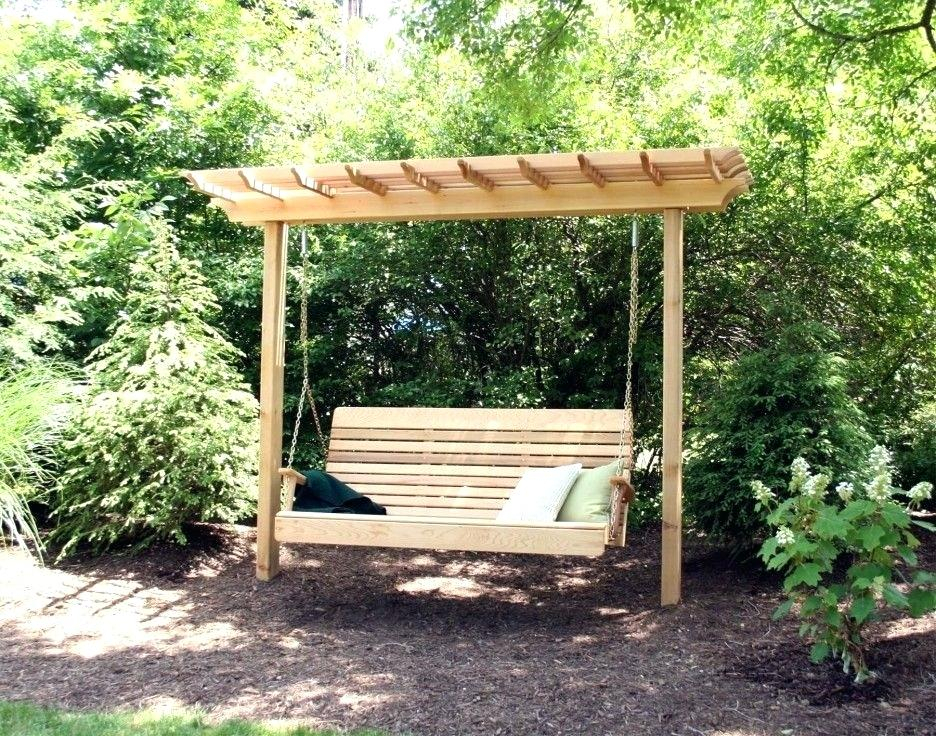 Porch Swing Arbor – Thelsf (#10 of 20)