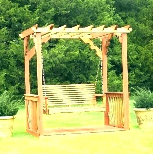 Porch Swing Arbor – Thelsf (#11 of 20)