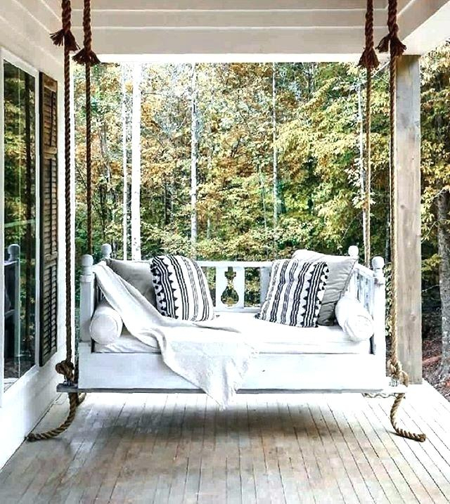Porch Swing Beds Charleston – Thehimalaya For Day Bed Porch Swings (#18 of 20)