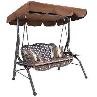 Porch Swing – Stand Included – Porch Swings – Patio Chairs Regarding Outdoor Canopy Hammock Porch Swings With Stand (View 18 of 20)