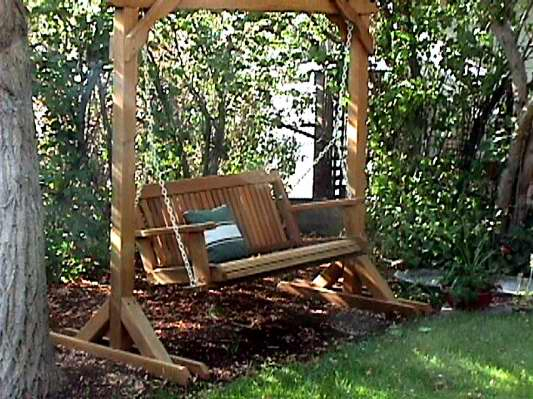 Porch Swings Buying Guide – Wood Country With Canopy Patio Porch Swing With Stand (View 19 of 20)