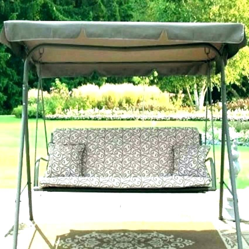 Porch Swings Green Patio Furniture & Accessories Mainstays In Porch Swings With Canopy (#16 of 20)