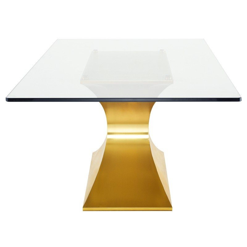 Praetorian – Nuevo With Regard To Favorite Dining Tables With Brushed Gold Stainless Finish (#16 of 20)