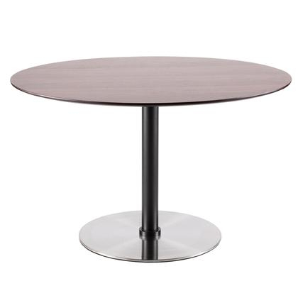 Preferred Long Dining Tables With Polished Black Stainless Steel Base Throughout Lumisource Dtdilnsswl (#15 of 20)