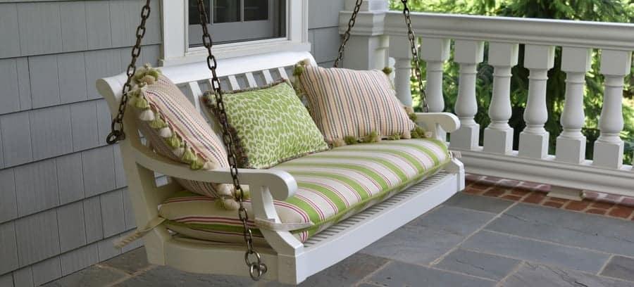 Primer On Porch Bed Swings – Besidethefrontdoor In Porch Swings (#16 of 20)