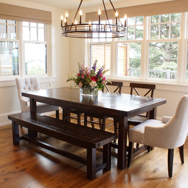 Provence Accent Dining Tables Intended For Fashionable Provençal Dining Table In Calgary, Alberta / Liken Woodworks (#11 of 20)