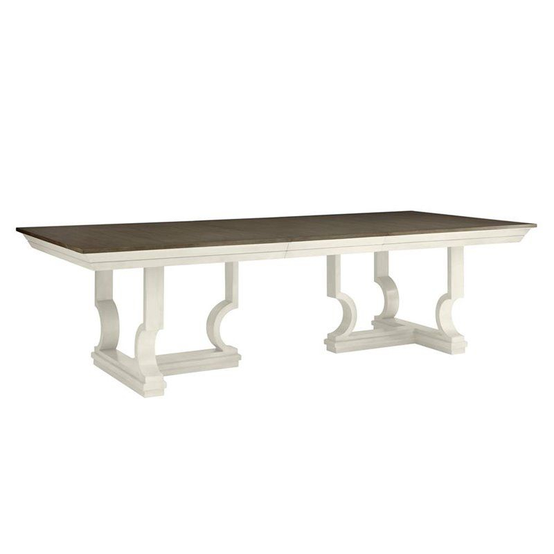 Provence Accent Dining Tables Pertaining To Popular Coastal Living Oasis Moonrise Pedestal Dining Table In (#12 of 20)