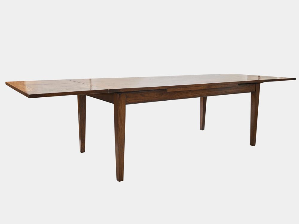 Provence Accent Dining Tables With Regard To Newest French Provincial Extension Dining Table In Oak – Provence (#15 of 20)