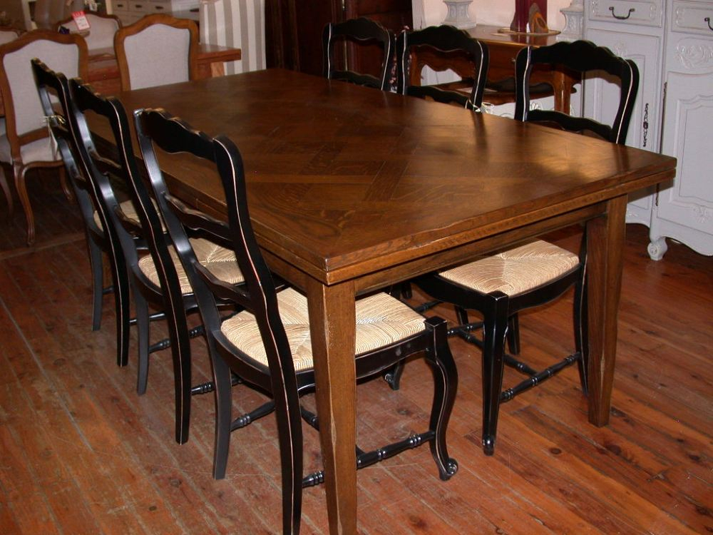 Provence Accent Dining Tables Within Well Known French Provincial Style Provence Extension Dining Table (#16 of 20)