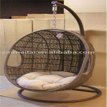 Inspiration about Rattan Hang Chair/garden Swing Chair /egg Chair   Global Sources Throughout Rattan Garden Swing Chairs (#14 of 20)
