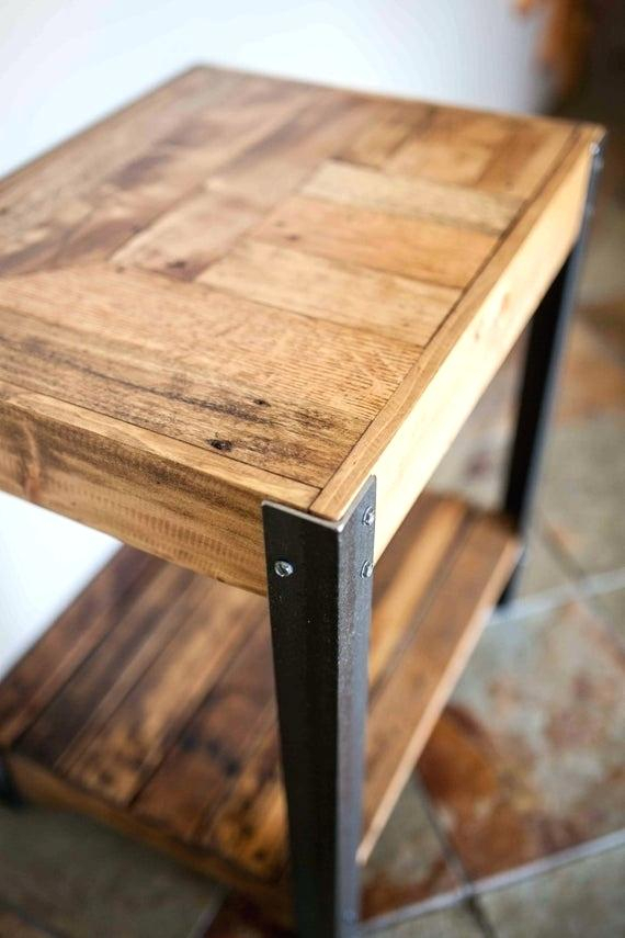 Inspiration about Recent Acacia Top Dining Tables With Metal Legs With Wooden Table With Metal Legs – Windowsapp.co (#19 of 20)