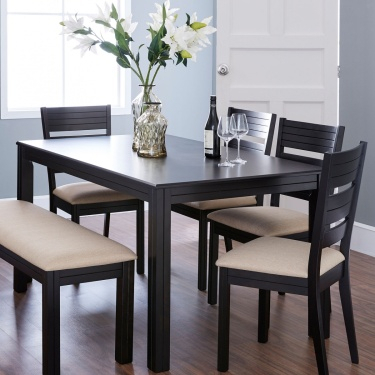 Inspiration about Recent Contemporary 6 Seating Rectangular Dining Tables Throughout Montoya Dining Table Without Chairs – 6 Seater (#8 of 20)