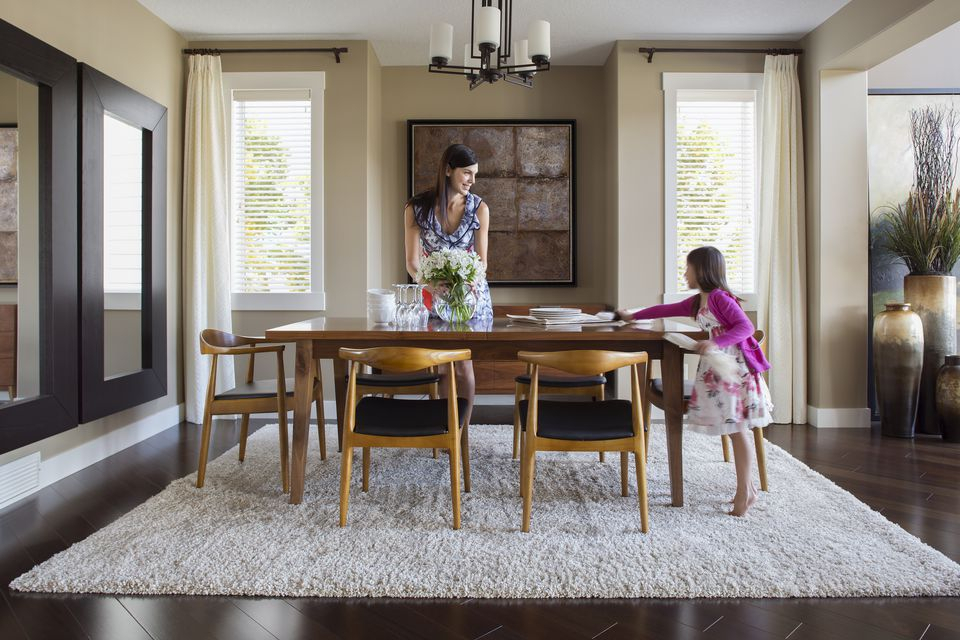 Recent Distressed Grey Finish Wood Classic Design Dining Tables Intended For How To Choose Chairs For Your Dining Table (#16 of 20)