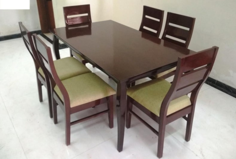 Recent Jenish – Dining Table With Regard To Wood Top Dining Tables (View 9 of 20)
