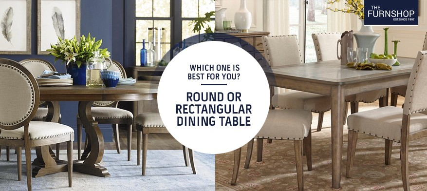 Rectangular Dining Tables Intended For 2020 Which One Is Best For You? Round Or Rectangular Dining Table (#12 of 20)
