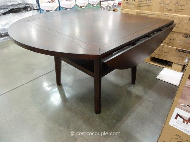 Inspiration about Regal Living Beckett Drop Leaf Dining Table Costco (#5 of 20)