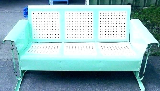 Inspiration about Retro Glider – Debtfreeme.co Pertaining To Metal Retro Glider Benches (#6 of 20)