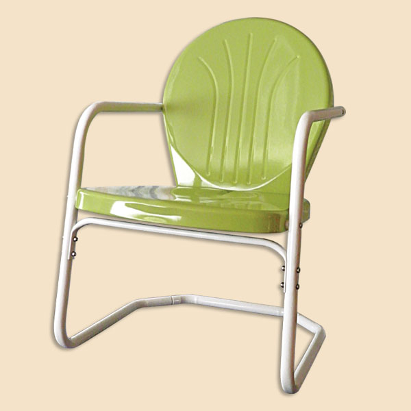 Inspiration about Retro Lawn Chairs – 1950S Lawn Chairs Inside Outdoor Retro Metal Double Glider Benches (#16 of 20)