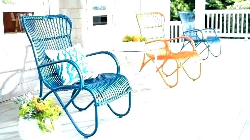 Inspiration about Retro Patio Furniture Glider Set Wicker Swivel Chairs Pertaining To Outdoor Patio Swing Glider Bench Chair S (#20 of 20)
