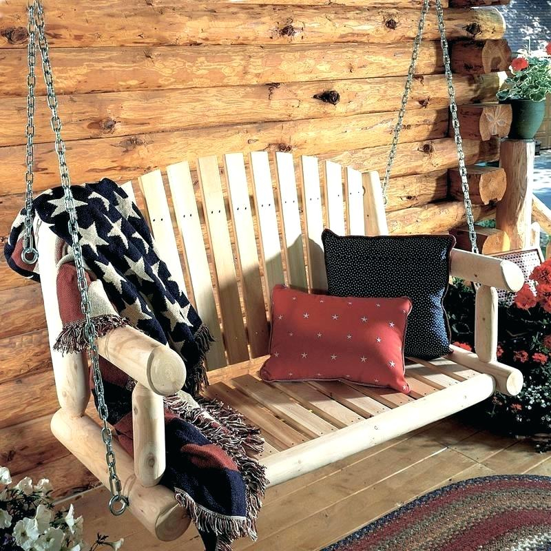 Inspiration about Review: 3 Best Two Person Porch Swings Proudly Made In The Usa In 2 Person Natural Cedar Wood Outdoor Swings (#15 of 20)