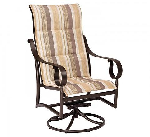 Inspiration about Ridgecrest Padded Sling High Back Swivel Rockerwoodard In Padded Sling High Back Swivel Chairs (#12 of 20)