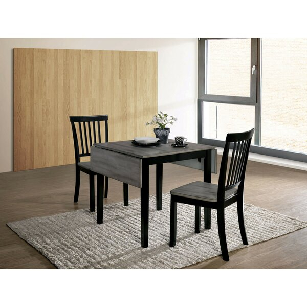 Rockaway 6 Piece Extendable Solid Wood Dining Set 2019 Sale With Regard To Well Liked Transitional 3 Piece Drop Leaf Casual Dining Tables Set (View 5 of 20)