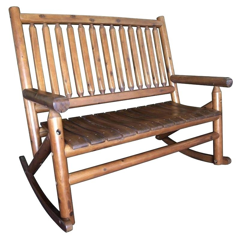 Inspiration about Rocking Bench For Porch Patio Rocking Bench Metal Outdoor Inside Rocking Benches With Cushions (#4 of 20)