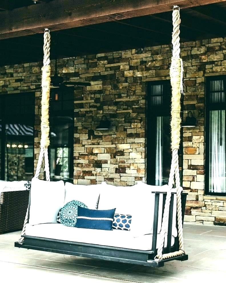 Inspiration about Rope Porch Swing Bed – Zoilarosborough.co Pertaining To Hanging Daybed Rope Porch Swings (#7 of 20)