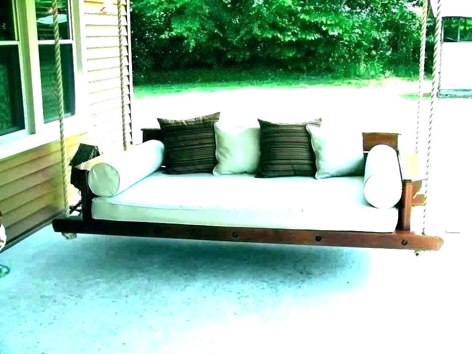 Inspiration about Rope Porch Swing Bed – Zoilarosborough.co Throughout Hanging Daybed Rope Porch Swings (#10 of 20)