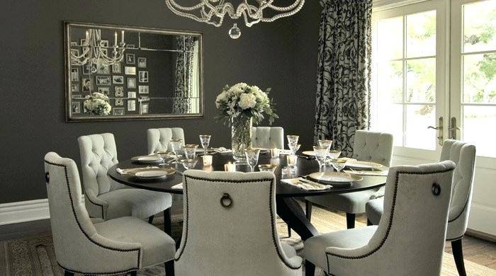 Inspiration about Round Dining Room Table For Elegant Tables Square Chairs With Regard To Fashionable Elegance Large Round Dining Tables (#1 of 20)