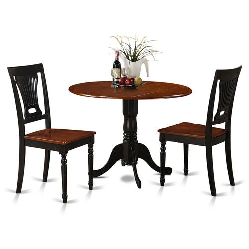 Round Dining Table Sets, Small Throughout Favorite 3 Pieces Dining Tables And Chair Set (View 17 of 21)