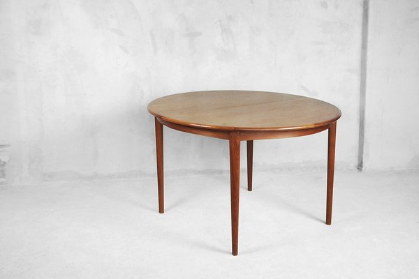 Inspiration about Round Dining Tables Pertaining To Most Popular Mid Century Swedish Extendable Round Dining Table, 1960S (#12 of 20)