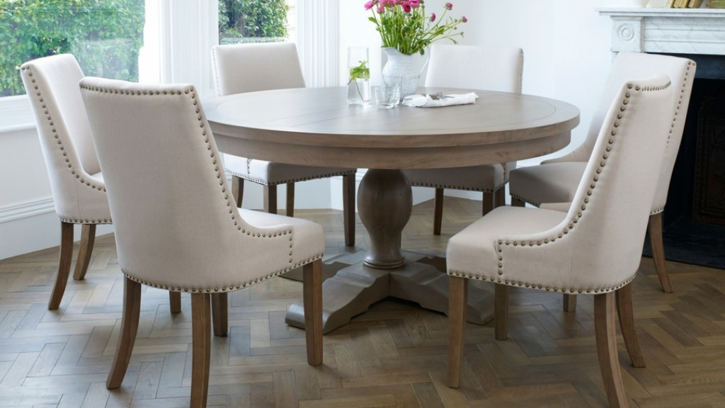 Inspiration about Round Dining Tables With Current Balmoral Classic 6 Seater Round Dining Set (#2 of 20)