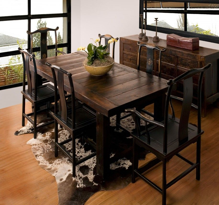 Inspiration about Rustic Dining Room Furniture Lends Your Space Aesthetic Throughout Preferred Small Rustic Look Dining Tables (#1 of 20)