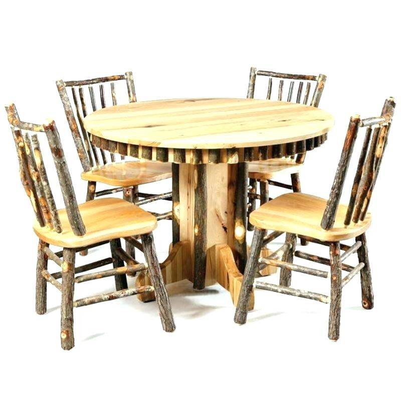 Inspiration about Rustic Kitchen Table And Chairs Tables Round Dining Sets For Throughout Most Recently Released Rustic Pine Small Dining Tables (#13 of 20)