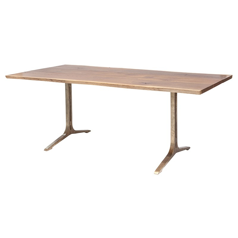Samara – Nuevo With Recent Dining Tables In Smoked/seared Oak (#17 of 20)