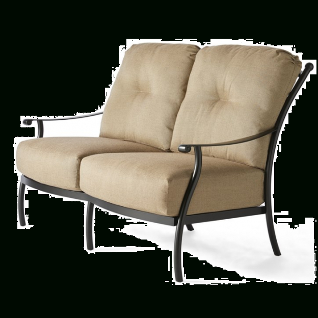 Seville Cushion Loveseat Inside Padded Sling Loveseats With Cushions (#14 of 20)