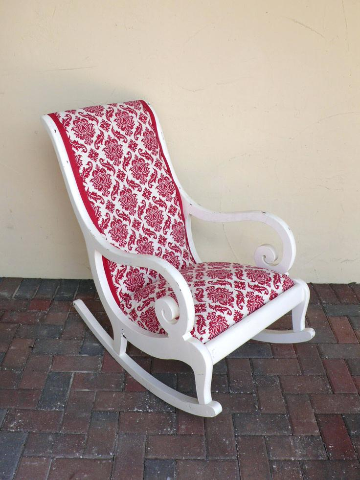 Shabby Chic Wood Outdoor Patio White Rocker Double Glider Inside Indoor/outdoor Double Glider Benches (View 5 of 20)