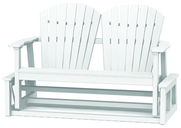 Shellback Glider – Wood – The Great Escape Inside Iron Grove Slatted Glider Benches (View 16 of 20)