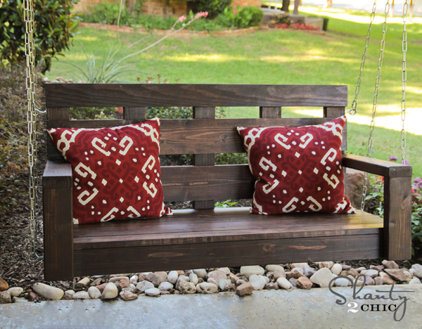 Simple To Build Porch Swing | Ana White In Lamp Outdoor Porch Swings (View 20 of 20)