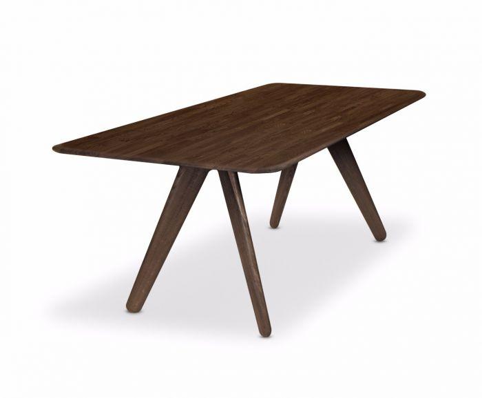 Slab Table Fumed Regarding Famous Fumed Oak Dining Tables (#14 of 20)