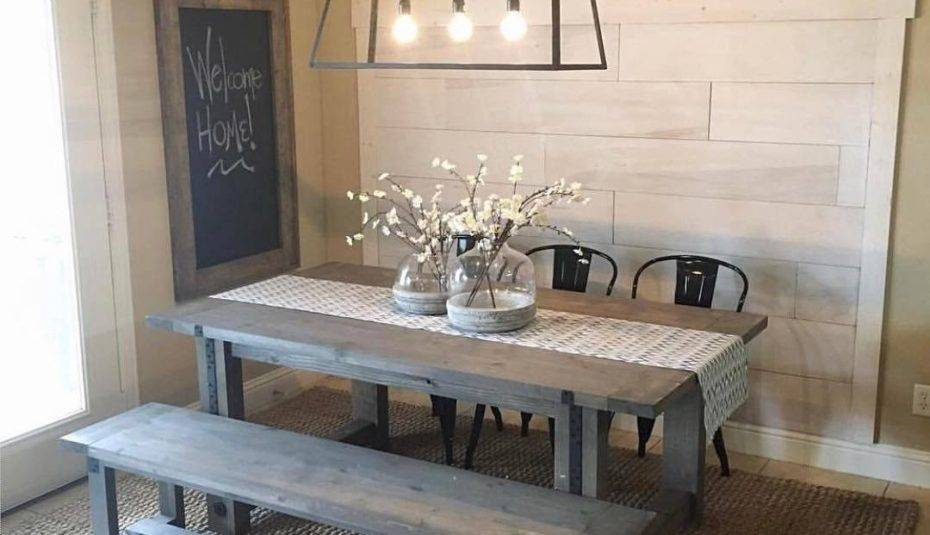 Small Rustic Look Dining Tables Inside Current Extraordinary Kitchens Country Farmhouse Kitchen Table And (View 8 of 20)