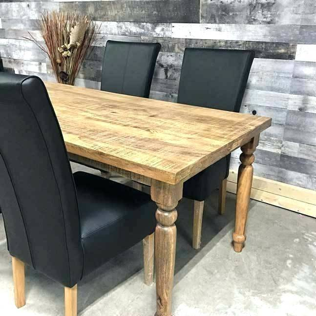 Solid Wood Circular Dining Tables White With Most Up To Date Excellent White Wooden Kitchen Table And Chairs Solid Wood (View 18 of 20)