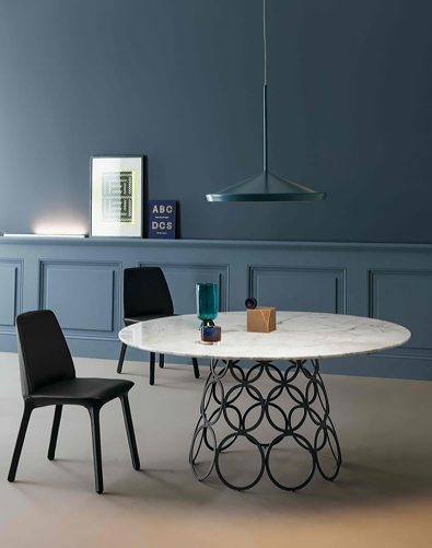 Spencer Interiors, Vancouver Inside Modern Glass Top Extension Dining Tables In Matte Black (#20 of 20)