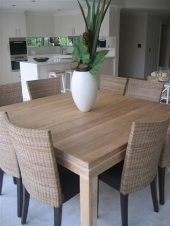 Square Dining Tables, Simple (View 4 of 20)