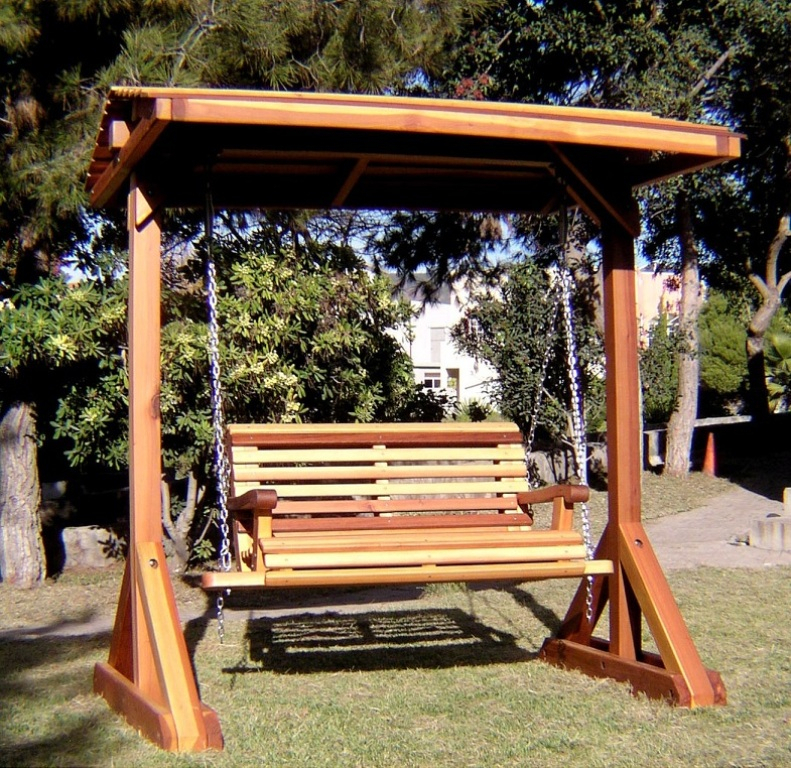 Standing Porch Swing Stand Outdoor Pergola Stands Home With Pergola Porch Swings With Stand (#14 of 20)