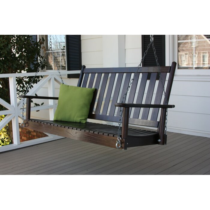 Swanley Porch Swing With Chain Pertaining To Porch Swings With Chain (#15 of 20)