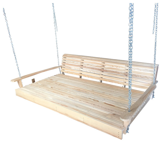 Swing Bed With Heavy Duty Chains Inside Porch Swings With Chain (#16 of 20)