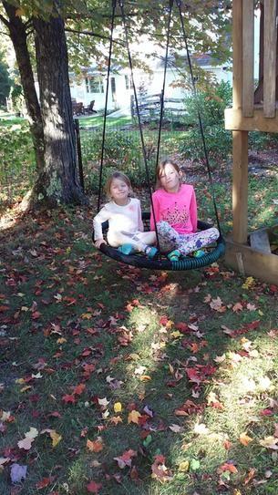 Swing N Slide Playsets Black Monster Web Swing   Swings And Within Casualthames Black Wood Porch Swings (View 16 of 20)