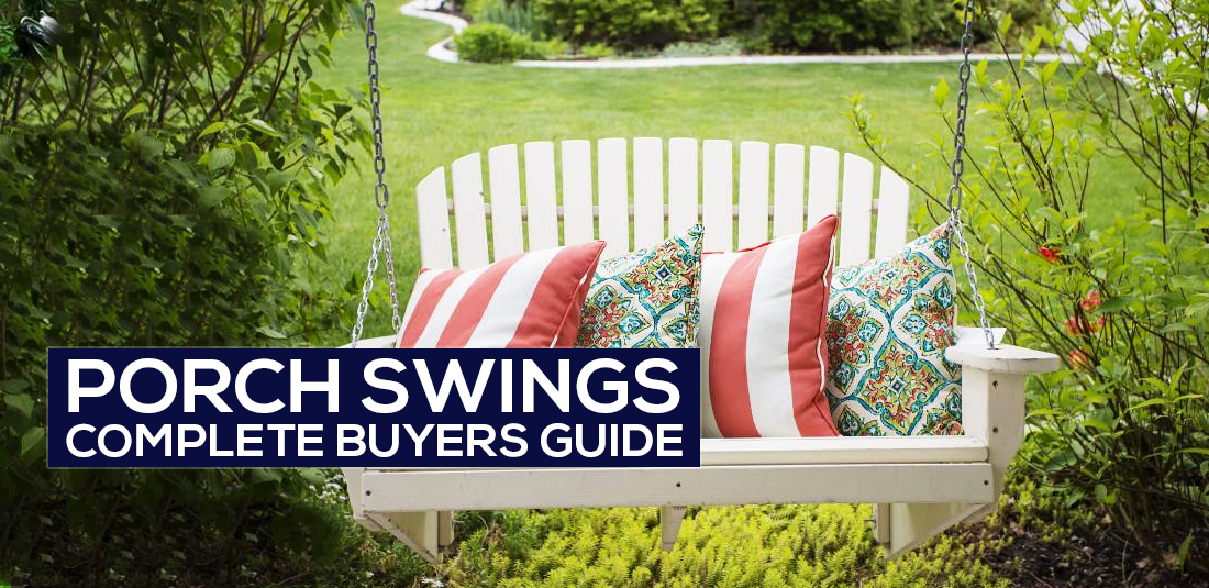 The Best Porch Swing Reviews 2018 [Highest Rated Buyer's Guide] Pertaining To 3 Person Natural Cedar Wood Outdoor Swings (#20 of 20)